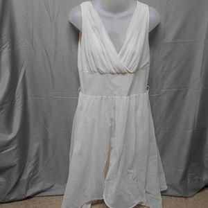 Vintage Fantasy cream negligee nightgown womens 36